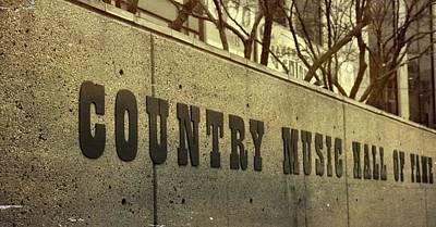 Country Music Hall Of Fame And Museum Photograph - The Country Music Hall Of Fame by Dan Sproul