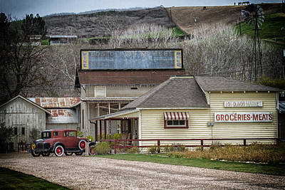 Photograph - The Country Store by Roger Mullenhour