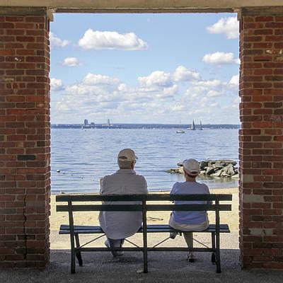 Photograph - The Couple by Bob Slitzan