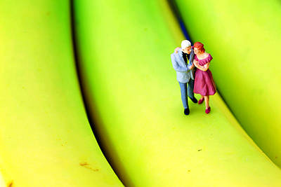 Photograph - The Couple On Banana Little People On Food by Paul Ge