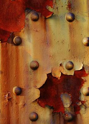 The Course Of Rust Art Print by Charles Lucas