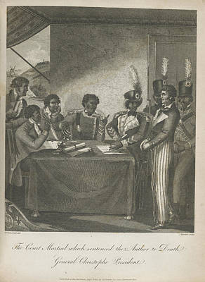 Black History Photograph - The Court Martial by British Library