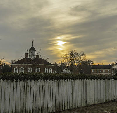 Photograph - The Courthouse At Colonial Williamsburg by Kathi Isserman