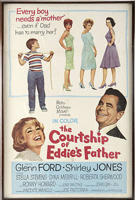 1950s Movies Photograph - The Courtship Of Eddie's Father by Mountain Dreams