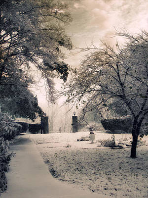 Tonal Photograph - The Courtyard by Jessica Jenney