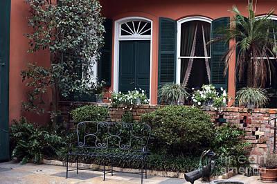 Photograph - The Courtyard by John Rizzuto