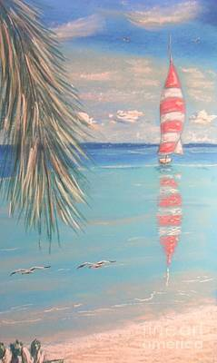 Painting - The Cove by The Beach  Dreamer
