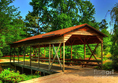 Photograph - The Covered Bridge by Kathy Baccari