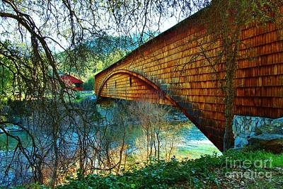 Photograph - The Covered Bridge by Long Love Photography