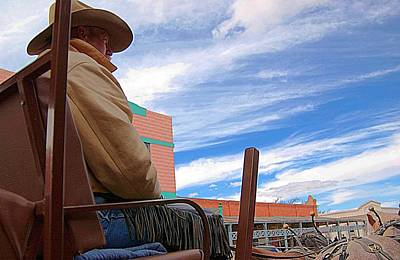 Photograph - The Cowboy by Bob Pardue