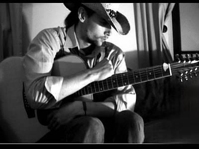 John Denver Painting - The Cowboy by John Morris