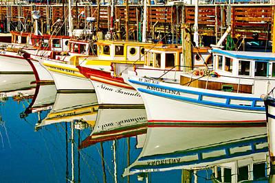 Crabbing Photograph - The Crab Fleet by Bill Gallagher