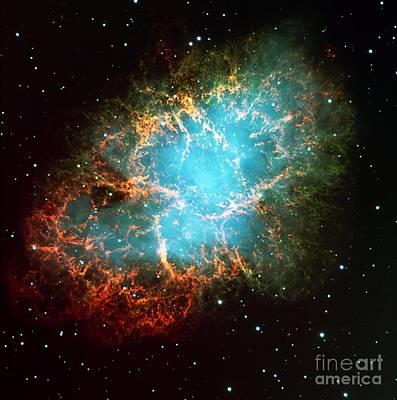 The Crab Nebula Art Print