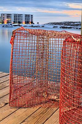 Photograph - The Crab Trap by JC Findley