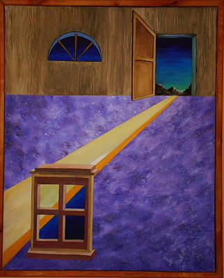 Art Print featuring the painting The Crack Of Dawn by Stuart Engel