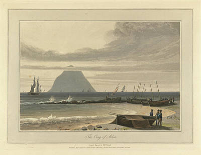 The Crag Of Ailsa Art Print by British Library