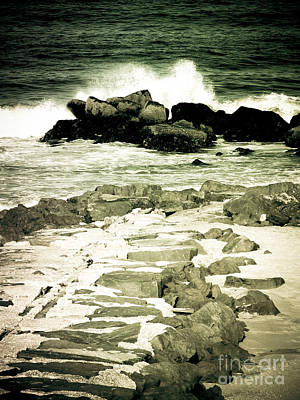 Photograph - The Crash Of The Waves by Colleen Kammerer
