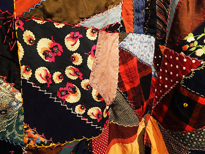 Photograph - The Crazy Quilt by Jacqueline  DiAnne Wasson