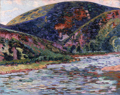 Etes Painting - The Creuse In Summertime by Jean Baptiste Armand Guillaumin