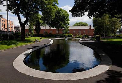 The Croppie Memorial Park, Near Collins Art Print