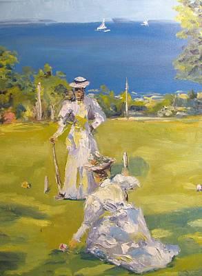 The Croquet Players Original