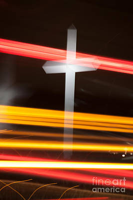 Photograph - The Cross by Jim McCain