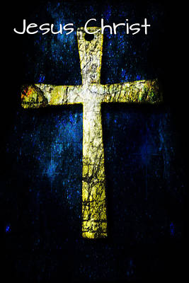 Photograph - The Cross by MS  Fineart Creations