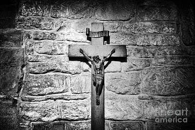 Christian Sacred Photograph - The Cross by Tim Gainey
