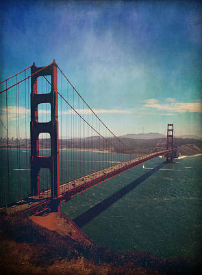 San Francisco Bay Photograph - The Crossing by Laurie Search