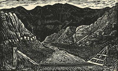 The Crossing Print by Maria Arango Diener