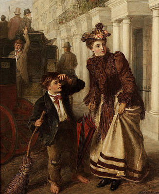 Sweeps Digital Art - The Crossing Sweep by William Powell Frith