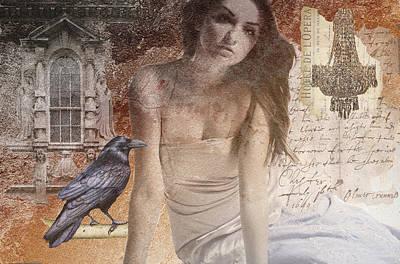 Maureen Digital Art - The Crow Knows by Maureen Tillman