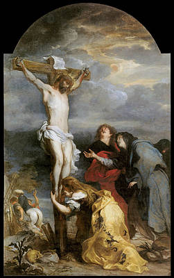 Van Dyke Painting - The Crucifixion by Anthony Van Dyke