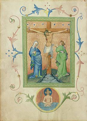 The Crucifixion Master Of The Kremnitz Stadtbuch, Austrian Art Print