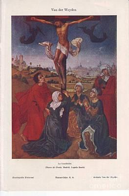 The Crucifixion Original by Vladimir Berrio Lemm