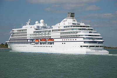 Photograph - The Cruise Ship Seven Seas Navigator by Bradford Martin