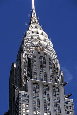 Ny Ny Photograph - The Crysler Building by Jon Neidert