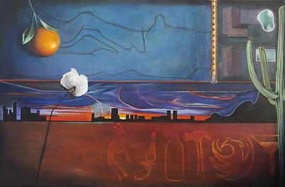 Painting - The Cs Of Phoenix by Erin Brinkman