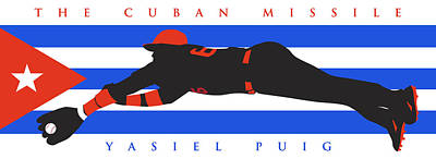 Stadium Digital Art - The Cuban Missile by Ron Regalado