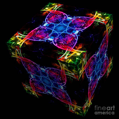Photograph - The Cube 4 by Steve Purnell