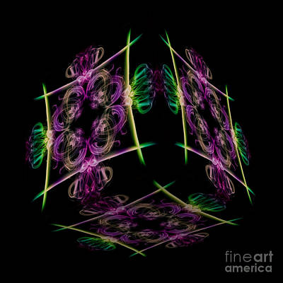 Photograph - The Cube 7 by Steve Purnell