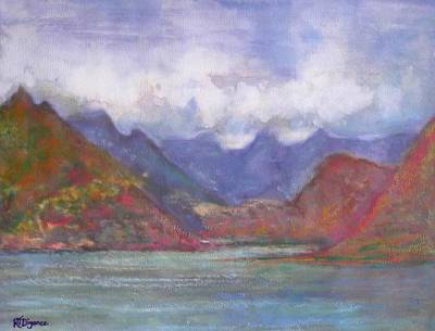 Painting - The Cuillins Scotland by Richard James Digance