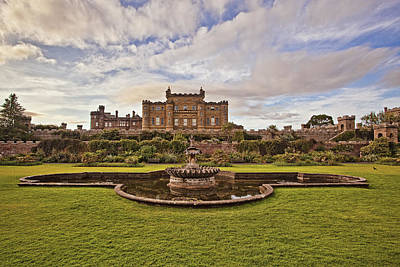 Castle Photograph - The Culzean Castle by Marcia Colelli