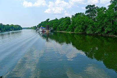 Photograph - The Cumberland River by Denise Mazzocco