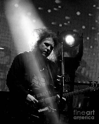 Photograph - The Cure Robert Smith by Anjanette Douglas
