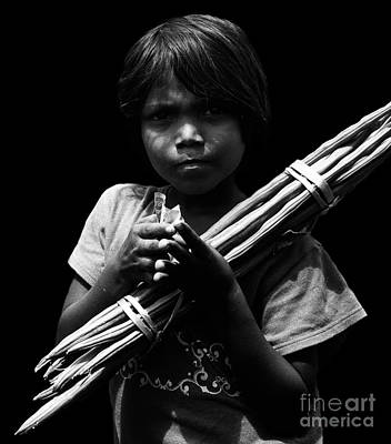Photograph - The Curse Of Poverty  by Venura Herath