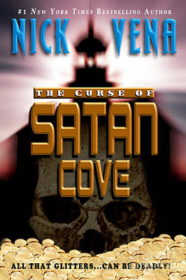 Pocketbook Cover Photograph - The Curse Of Satan Cove by Mike Nellums