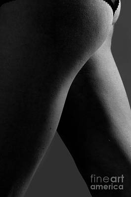 Pubic Hair Photograph - The Curvature by Gib Martinez