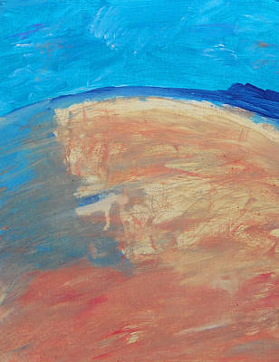 The Curve Of The Beach Original by Lenore Senior
