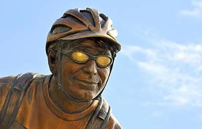 Photograph - The Cyclist by AJ  Schibig
